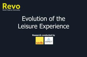 Evolution of leisure